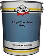 20 litre Peinture Industriel Sol, Béton Séchage Rapide Alkyde - Gris -
