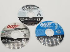 James Bond 007 LOT Gamecube - Nightfire, Agent Under Fire, Everything Or Nothing