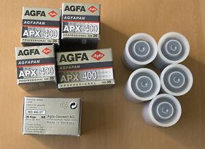 10x AGFA AGFAPAN APX 400 - SW-Film 135-36 (OVP) - 01/2005