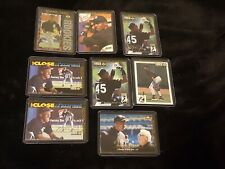 (8) Michael Jordan Baseball Rc Lot 1994 Upper Deck Silver Signature Rookies