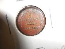 Alabama Fuel  & Iron Co - Margaret,Ala. 1 cent  Token