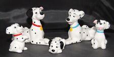 Disney China 101 Dalmatians Set Of 5 Figurines Pongo Perdita & Pups