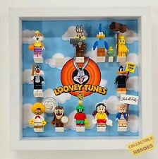 Display Case Frame for Lego Looney Tunes Minifigures Figures 71030 25cm