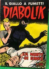 DIABOLIK SECONDA SERIE n. 16 - ORIGINALE luglio 1965
