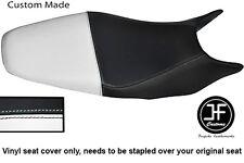 Black & White de vinilo personalizado se ajusta a Honda Hornet CB 600 98-01 Dual Cubierta de asiento solamente