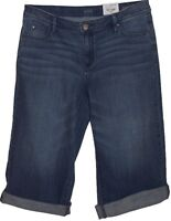 a.n.a. Medium Blue Jean Capri  Pants Women's Size 6 / 28 New