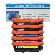 5PK CE250/51A/52A/53A Color Toner Cartridge For HP 504A LaserJet CM3530 CP3525