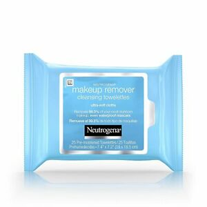 Neutrogena Makeup Remover Cleansing Towelettes - 25 Ct (2 Pack )