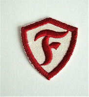 "Vintage Firestone Tire & Rubber ""F"" Employee Name Patch New NOS 1960s"