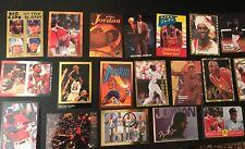 RARE! MJ Michael Jordan Basketball Cards Promo Rookie Oddball Chicago Bulls Lot