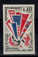 "(b29) timbre France n° 1450a neuf** année 1965 ""non dentelé"""