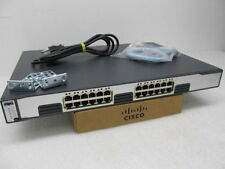 Cisco WS-C3750G-24T-S Switch 24 Port Layer 3 Gigabit EnterpriseSwitch