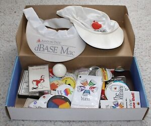 Apple Macintosh Computer Memorabilia Box 1