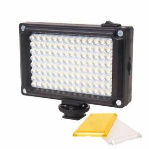 Ulanzi 112 LED Adjustable Light Video Rechargeable Bi-color LED Lampe Light