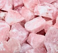 Rose Quartz Crystal Rough Tumble Stone - Lapidary Raw Mineral Healing Chakra