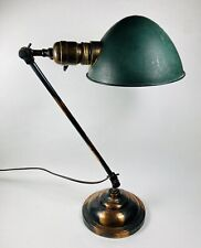 FARIES Early 1900's Arts & Crafts Articulating Table Lamp Original & Nice Works!