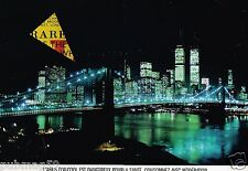 B- Publicité Advertising 1991 (2 pages) Scotch Whisky J&B Twin Towers New York