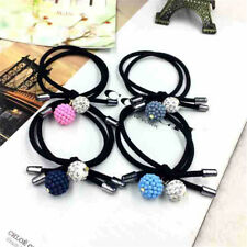 5x Women Girls Hair Band Ties Rope Ring Elastic Hairband Ponytail Hair Holde pl