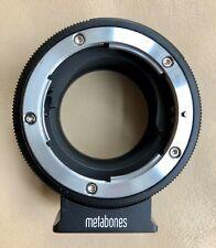 Metabones mount adapter Nikon G to Sony E