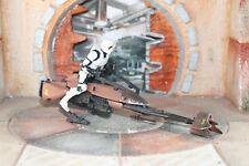 Speeder Bike With Biker Scout Star Wars Power Of The Force 2 1996