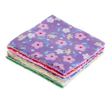 100Pcs Assorted Floral Cotton Fabric Fat Quarters Bundles For Sewing Crafts