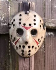 Jason Voorhees Custom Hand Painted Mask - High Quality-
