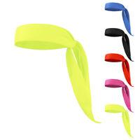 Sports Head Tie Headband Sweatband For Running Basketball Tennis Yoga Unisex