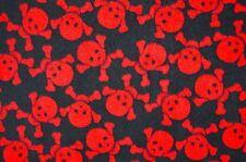 Fabrics Antipiling Polar Fleece Polar Fleece 9479 Clothing Printed Skull