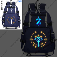 Game The Legend of Zelda: Breath of the Wild Backpack Schoolbag Laptop Bag N1