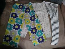 Girls Size 5 Leggings And Pj Pants Lot Carter's Children's Place Old Navy