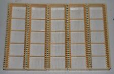 5 Vintage Plastic Slide / Storage Trays 2 x 2 / 35mm Slide  / Transparency