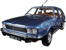 1978 RENAULT 30 TS ARDOISE BLUE METALLIC 1/18 DIECAST CAR MODEL BY NOREV 185270