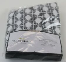 Threshold Ironing Board Cover New In Package Wide Padded White/ Black