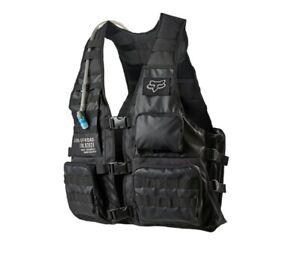 Fox Racing Adult Legion Tac Vest Hydration Gear Black ATV MX Moto OffRoad Riding