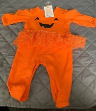 Carters Just One You Halloween Body Suit Size Newborn