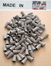 1000 Grey Wire Twist Nut 22 16 Gauge Electrical Connector Gray Made In Usa