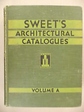 Sweet's Architectural CATALOG - 1932 - Volume A -- hardcover