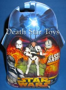 Star Wars ROTS Revenge of the Sith 38 AT-TE Tank Gunner Clone Trooper Ops AOTC