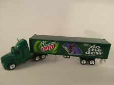 Golden Wheel Die Cast [Mountain Dew Truck Hauler Tractor Trailer]