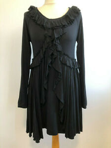 Maternity Blouse Top FunMum Black Stretchy Viscose Blend New Tags Pregnancy