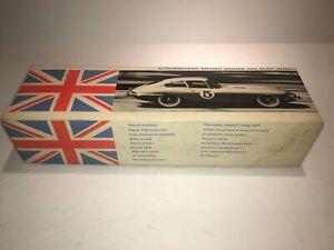 Vintage 1963 Strombecker Jaguar XKE Body Shell Kit 1/32 Scale. New In Box. Black