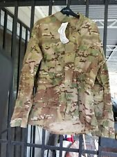 NWT MULTICAM US Army Mens Coat FLAME RESISTANT INSECT GUARD Large Regular