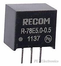 RECOM POWER   R-78E5.0-0.5   CONVERTER, DC TO DC, 5V, 2.5W