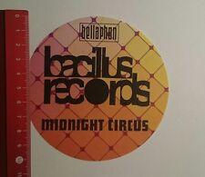 Pegatina/sticker: Bellaphon bacilus Records Midnight Circus (191116185)