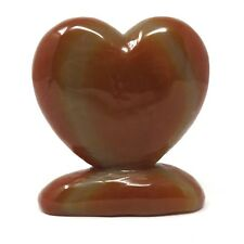 498g Stone Heart - Red Agate - 4 inches - Beautiful - Some Flaws - #12