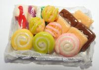 Miniatur Backblech Kuchen Kaufmannsladen Puppenstube Puppenhaus 1:12 - Nr.4 (JS)