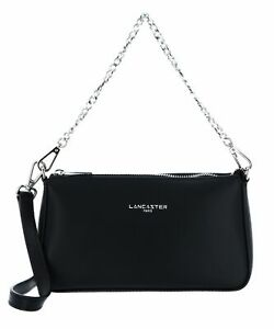 LANCASTER Smooth Even Crossbody Bag Handtasche Tasche Noir
