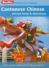 Berlitz Cantonese Chinese Phrase Book & Dictionary-ExLibrary