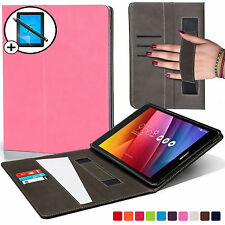 Leather Pink Strap Smart Case Cover for ASUS Zenpad Z8 Screen Prot & Stylus