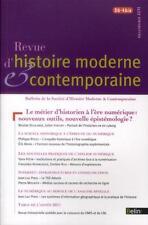 REVUE D'HISTOIRE MODERNE ET CONTEMPORAINE N.58-4   bis   supplément 2011